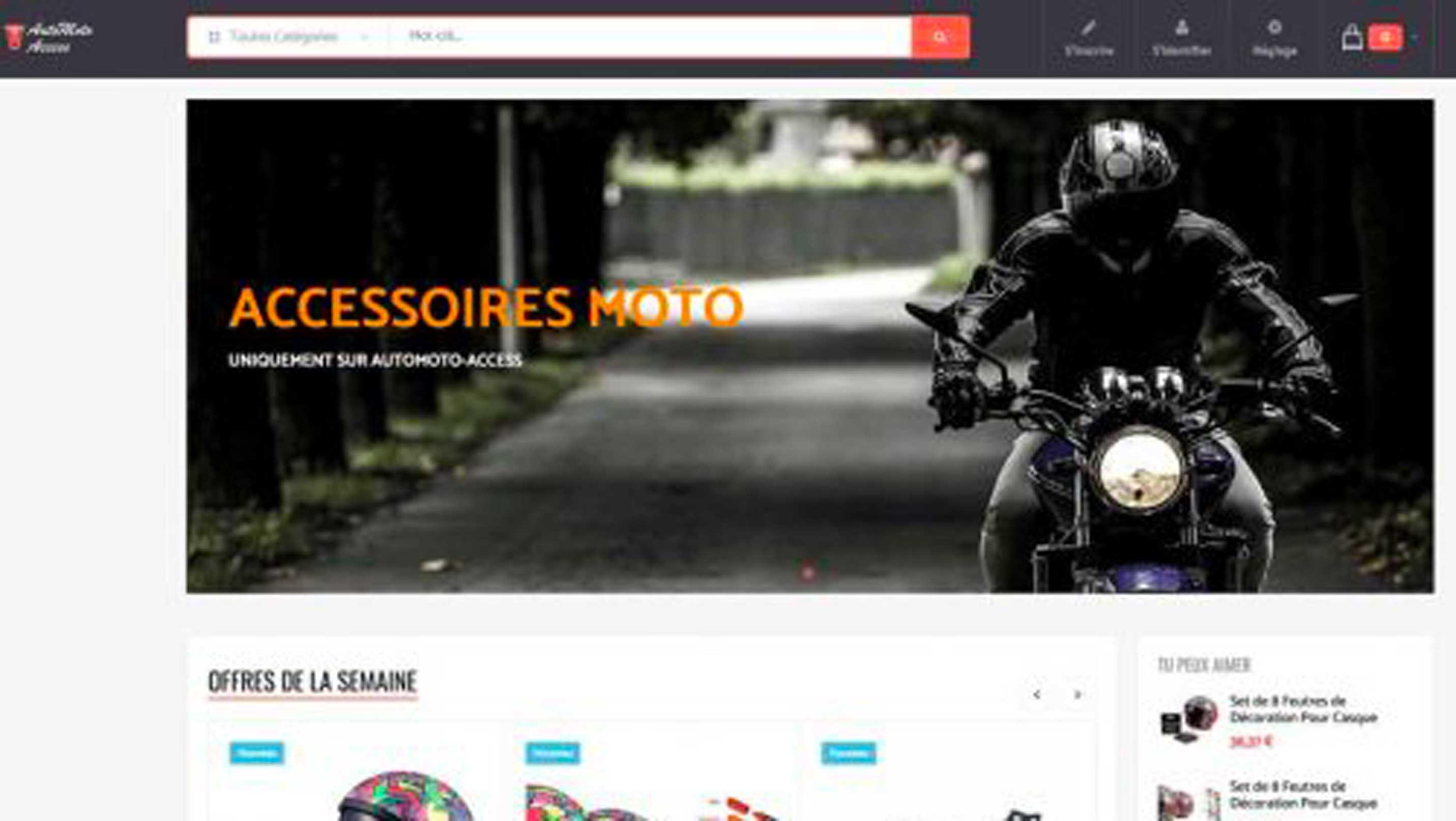E-commerce d'auto et moto