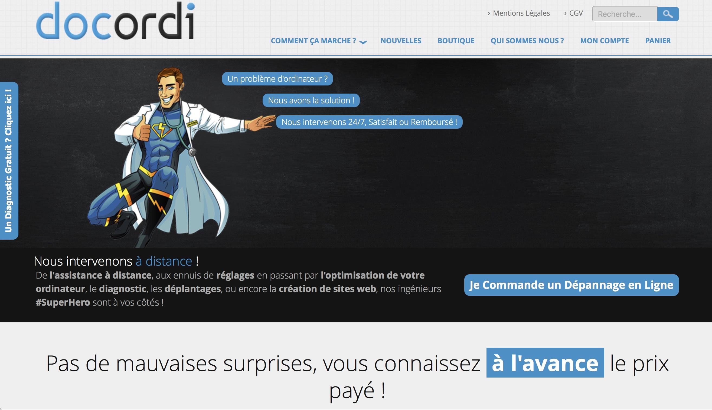 Super Concept – Dépannage informatique immédiat en ligne