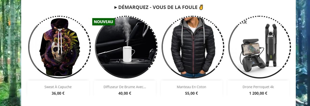 Site e-commerce ruducom.com