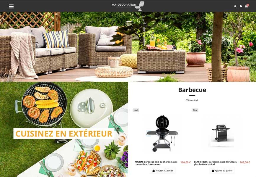 E-commerce sans stock univers : décoration – Fournisseurs Français