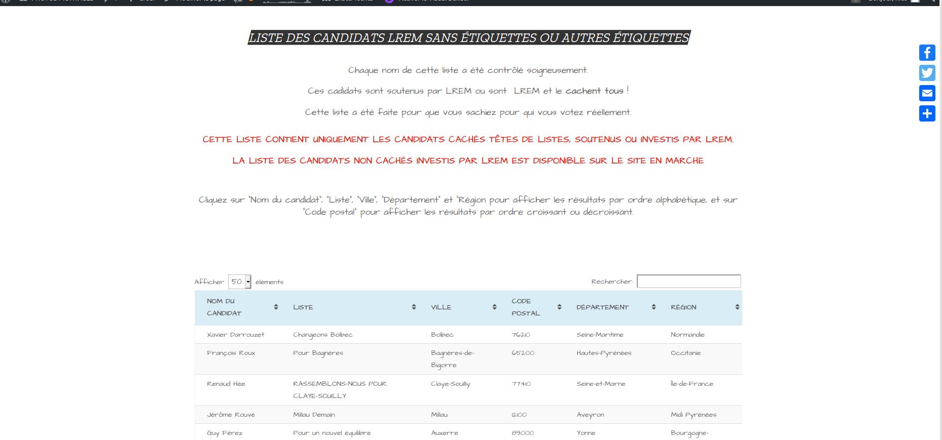 Vente site ecommerce satirique