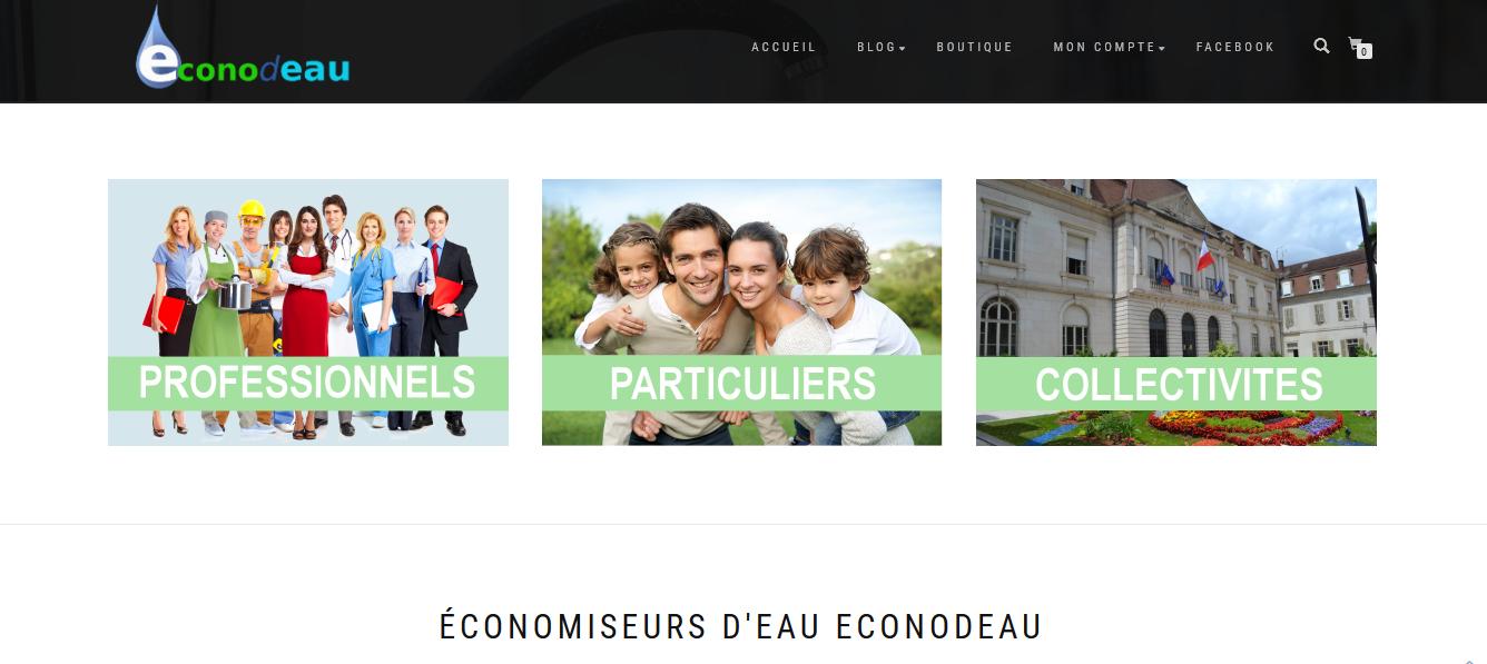 ecommerce & concept econodeau.fr