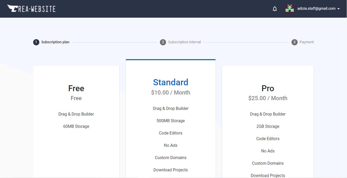 Crea-Website – Créer un site n'a jamais été si facile