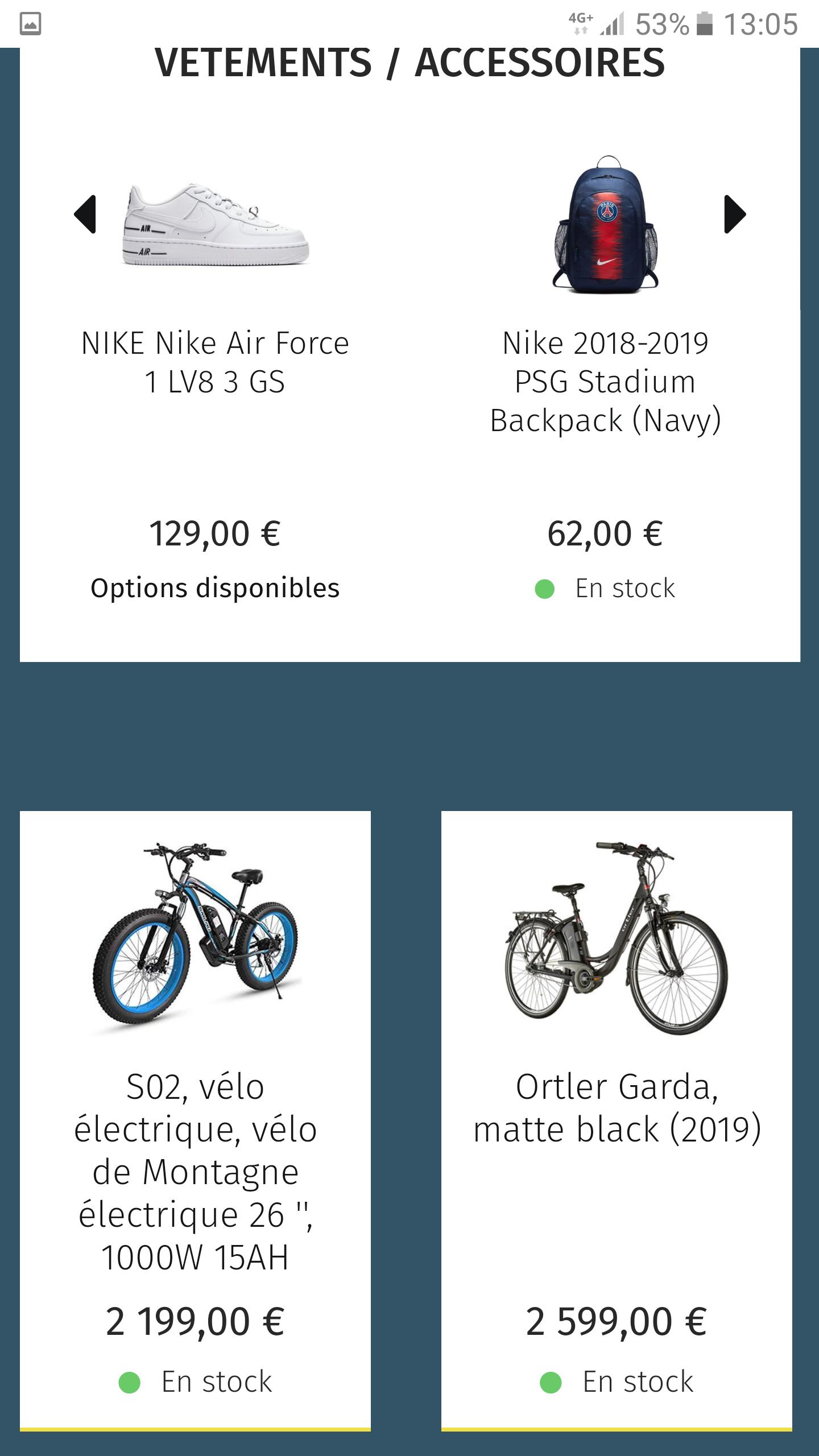 Boutique généralistes