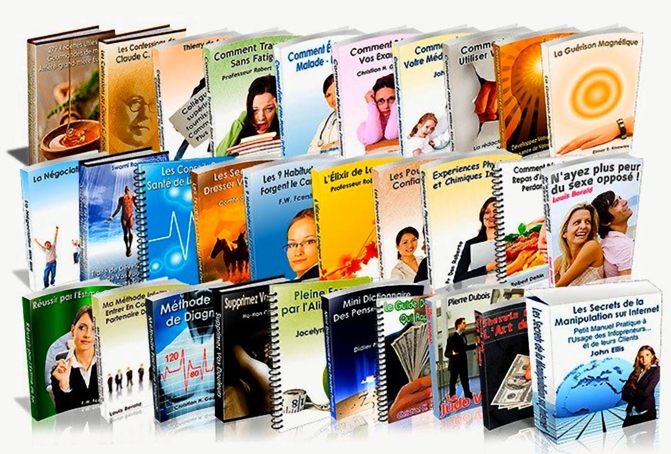 Fond d'édition de Produits Numériques + Pages de Vente dans la niche Santé Naturelle