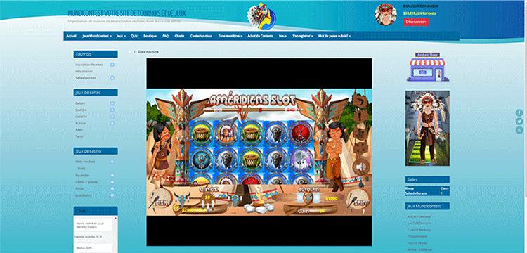 Tournois de belote buraco jeux de slots bingo et autres